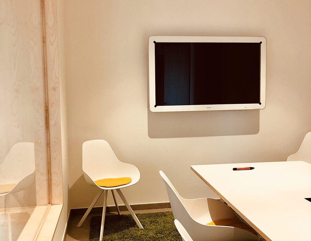 intérieur bureau bois design