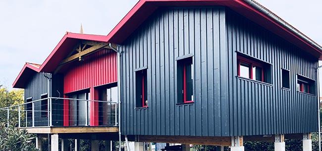maison bois contemporaine