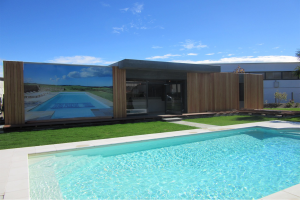 Local commercial 117m en italie popup house for Local technique piscine surface de plancher