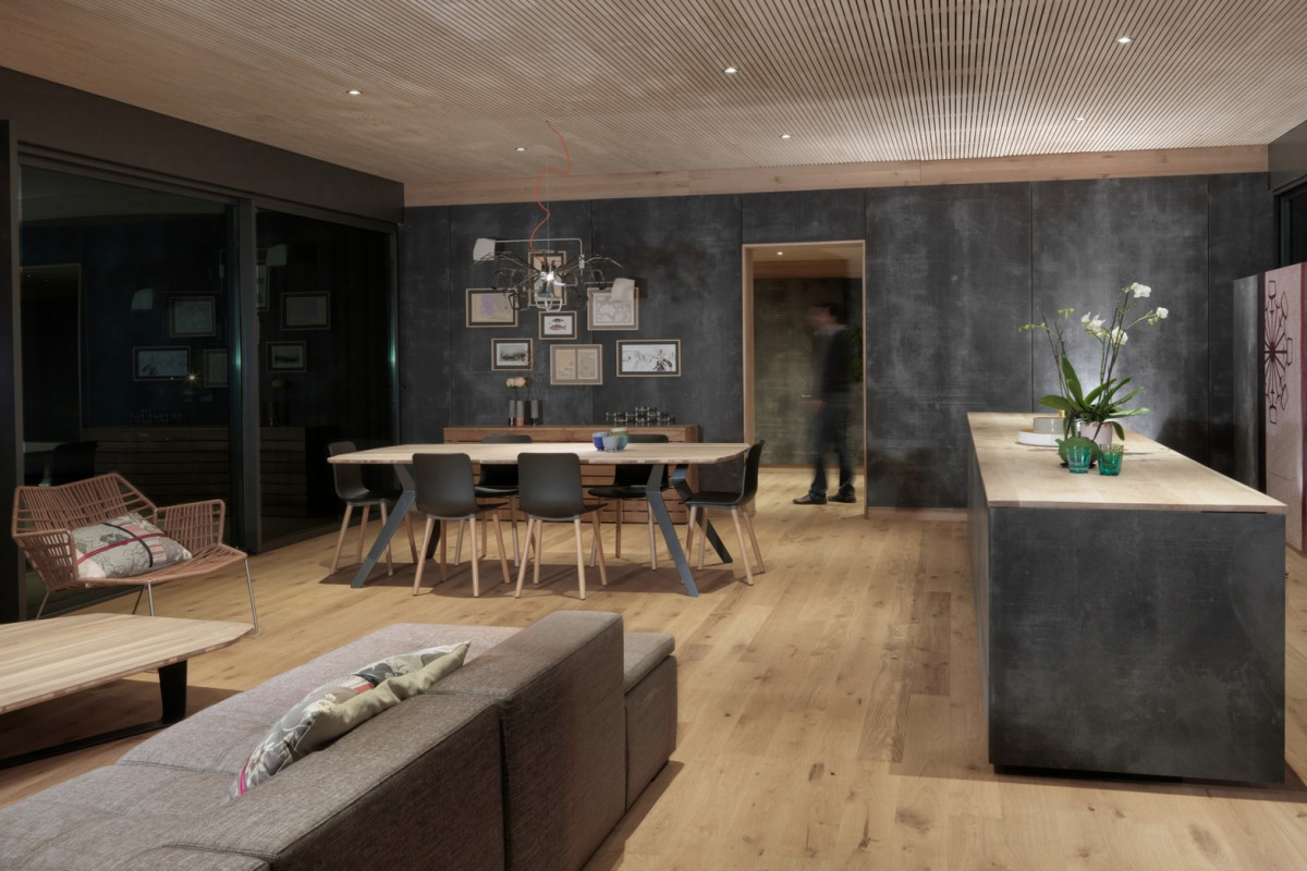 130m house in aix en provence popup house. Black Bedroom Furniture Sets. Home Design Ideas