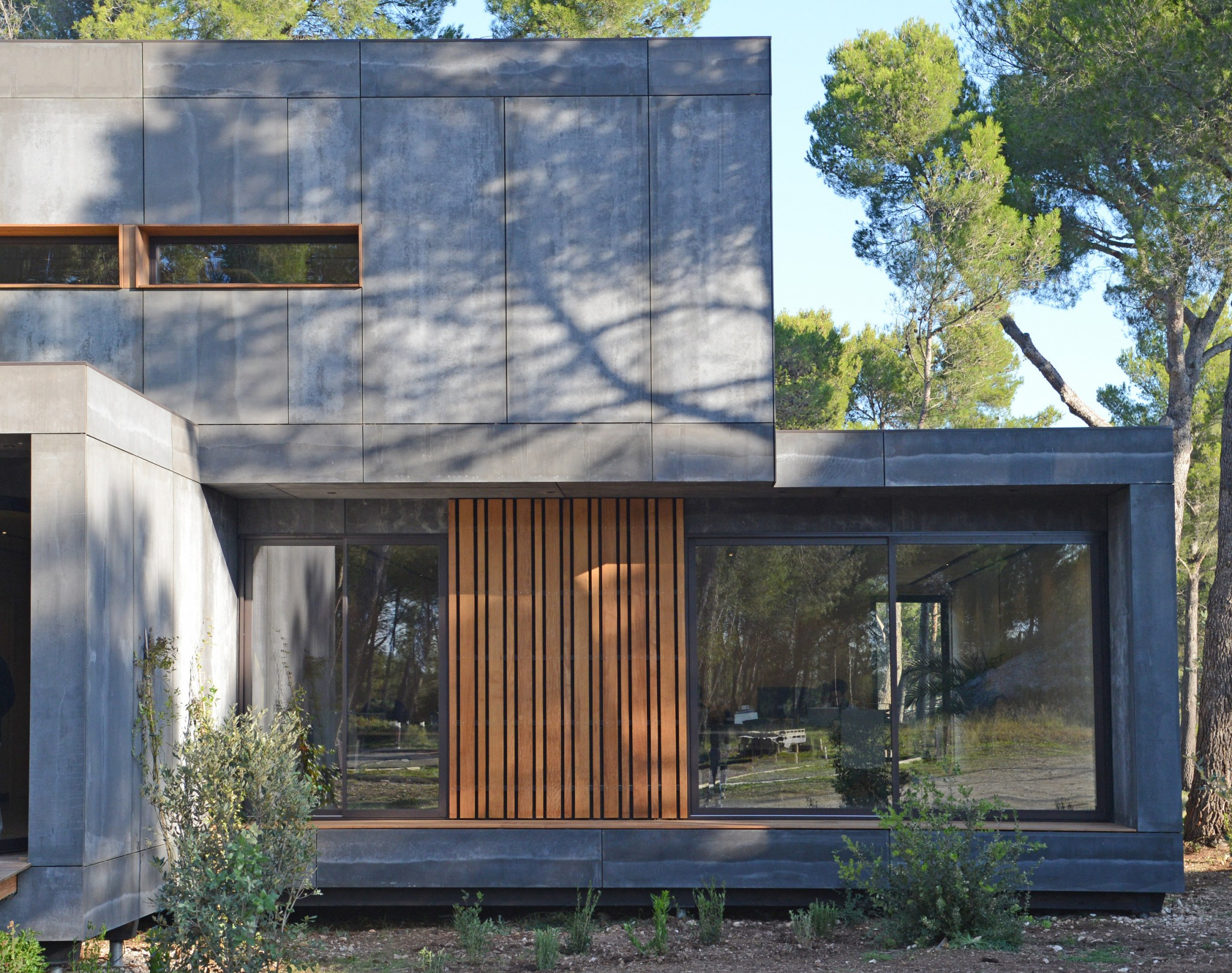 M² office in provence popup house