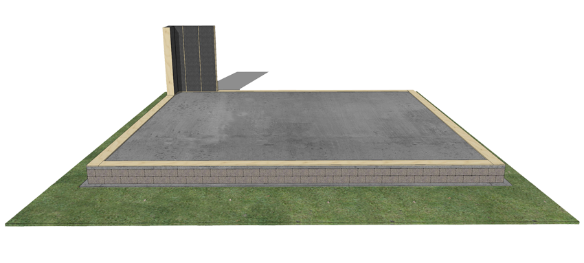 quels types de fondations peuvent tre utilis s popup house. Black Bedroom Furniture Sets. Home Design Ideas