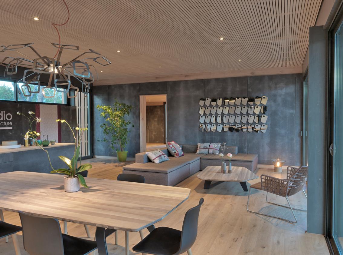 quels types de finitions pour l int rieur popup house. Black Bedroom Furniture Sets. Home Design Ideas