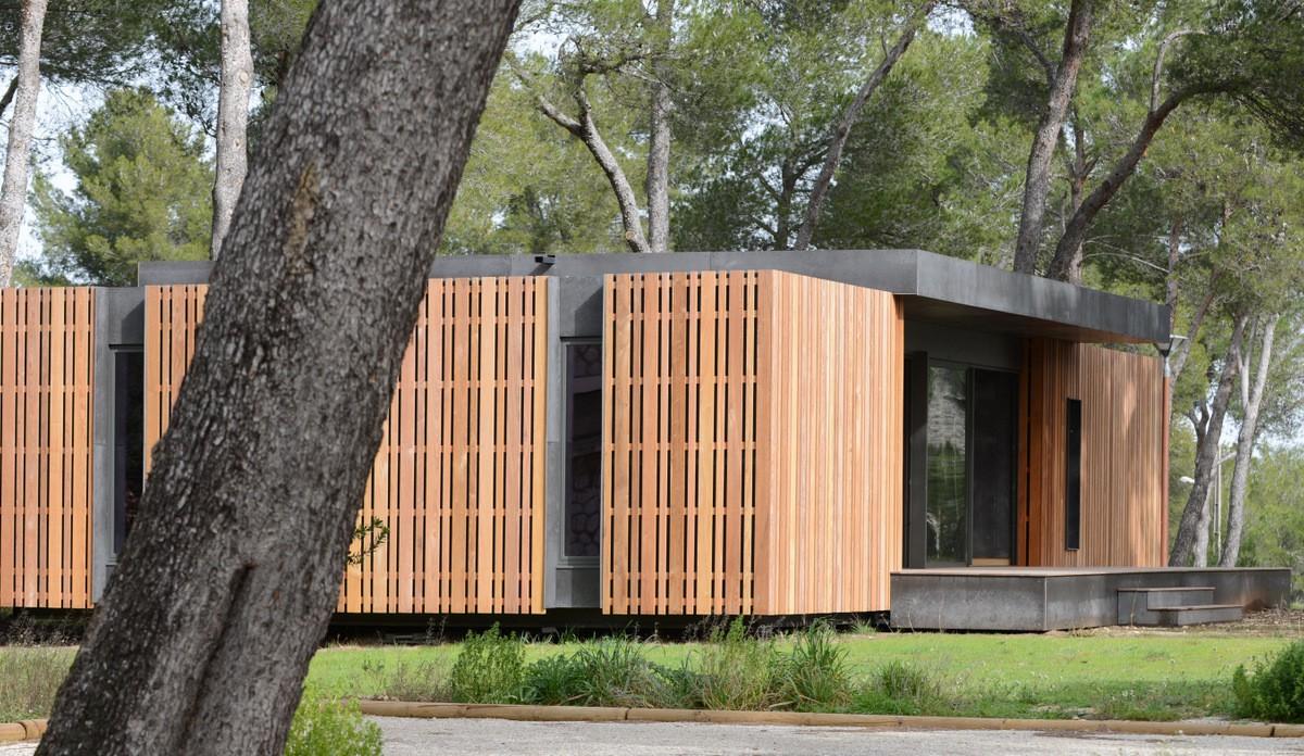 maison bois marseille