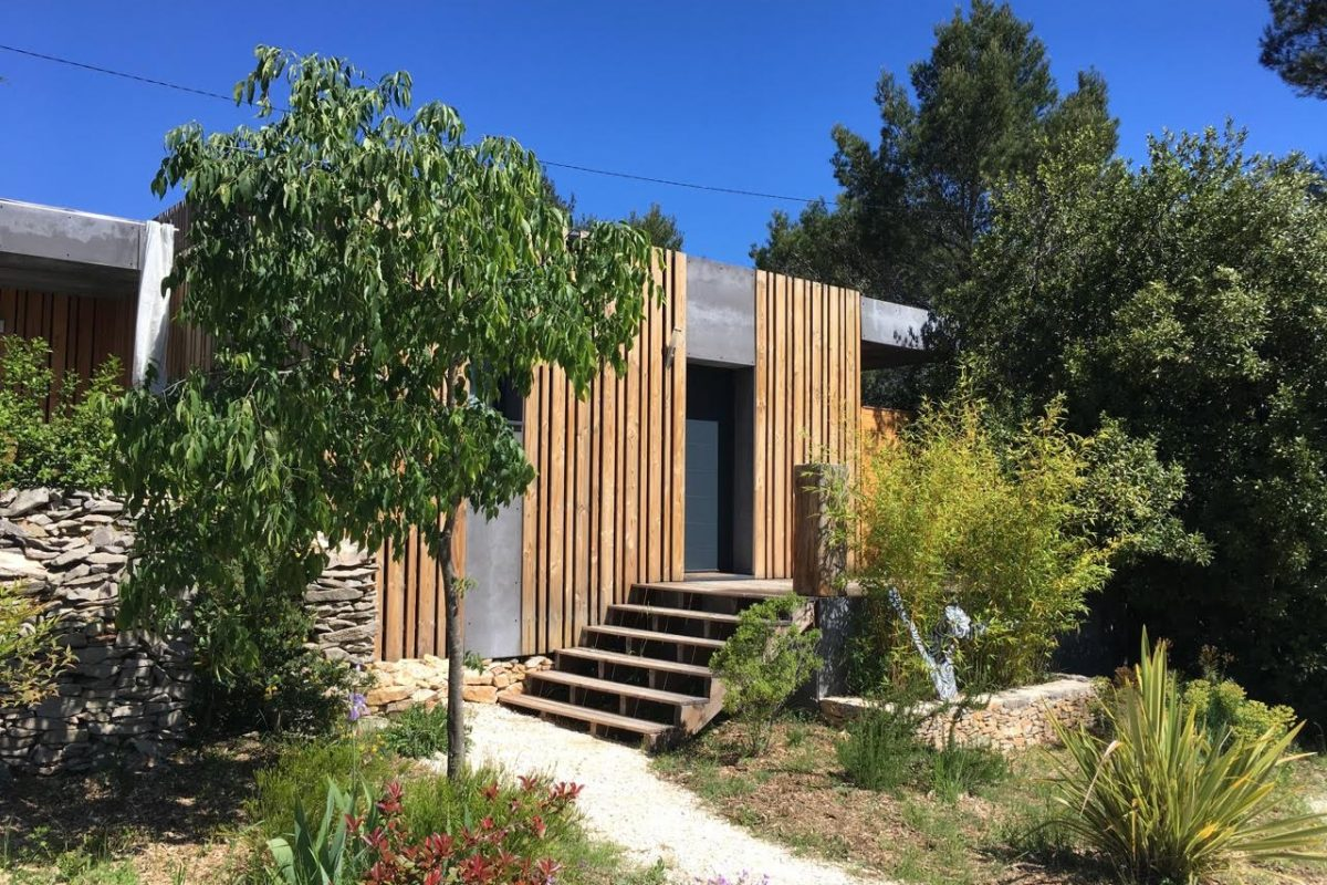 maison hôte nimes extérieur contemporain popup house