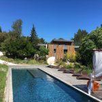 maison hôte nimes extérieur design piscine popup house