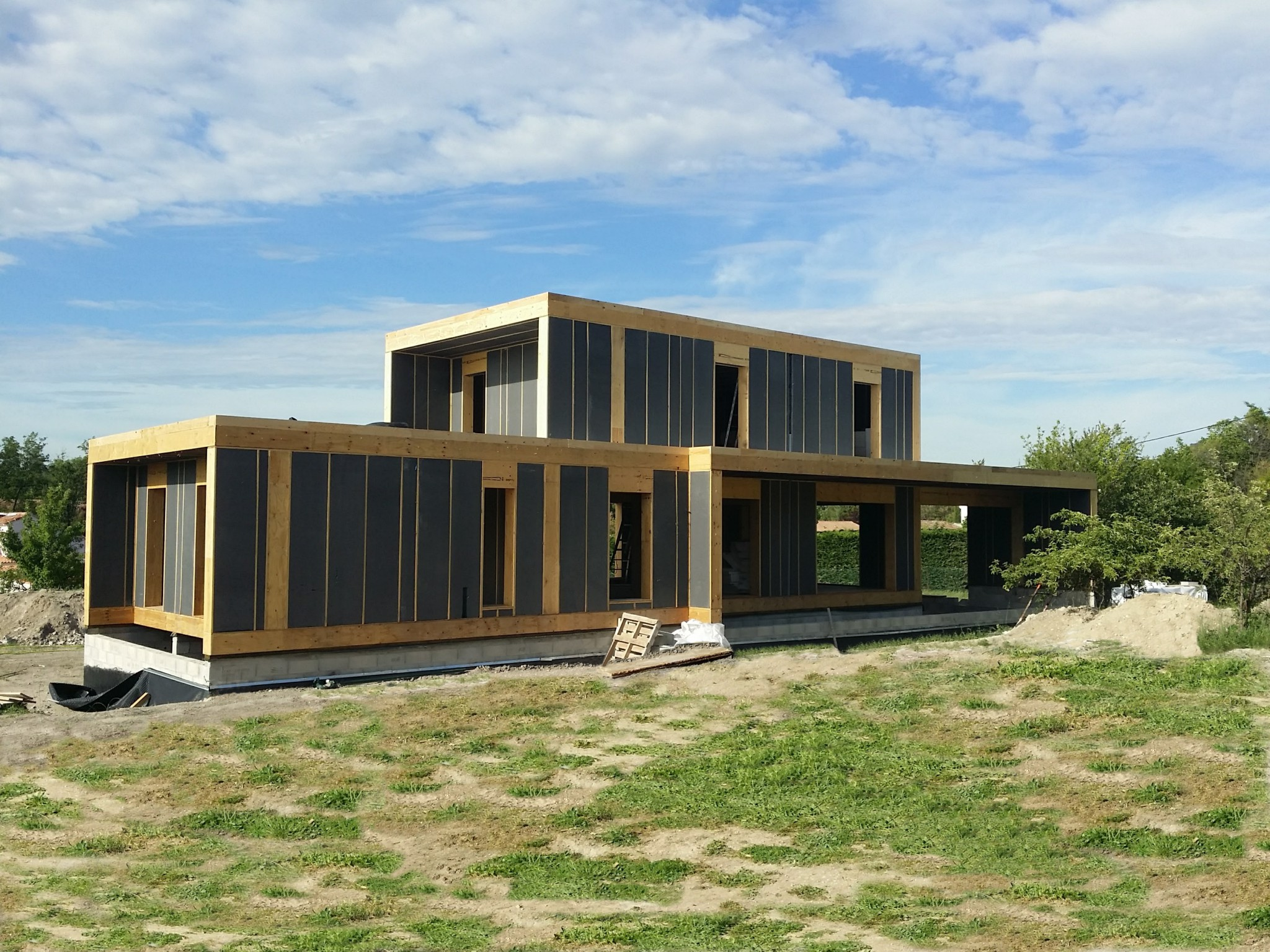 Maison container bretagne latest maison container for Container maison passive