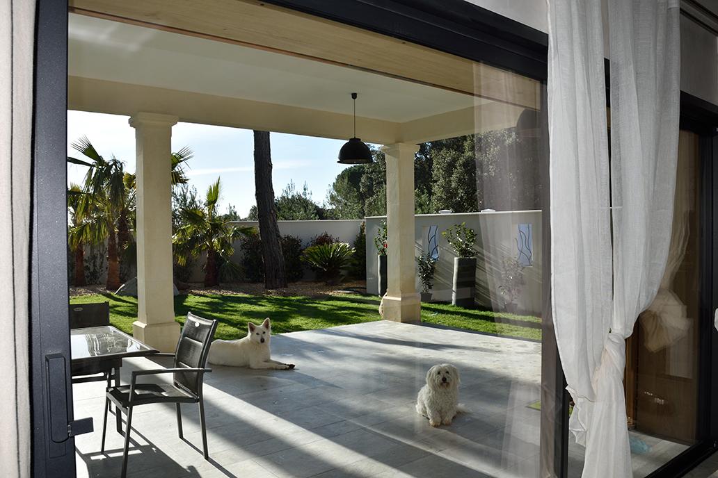 extérieur maison bois architecture contemporaine popup