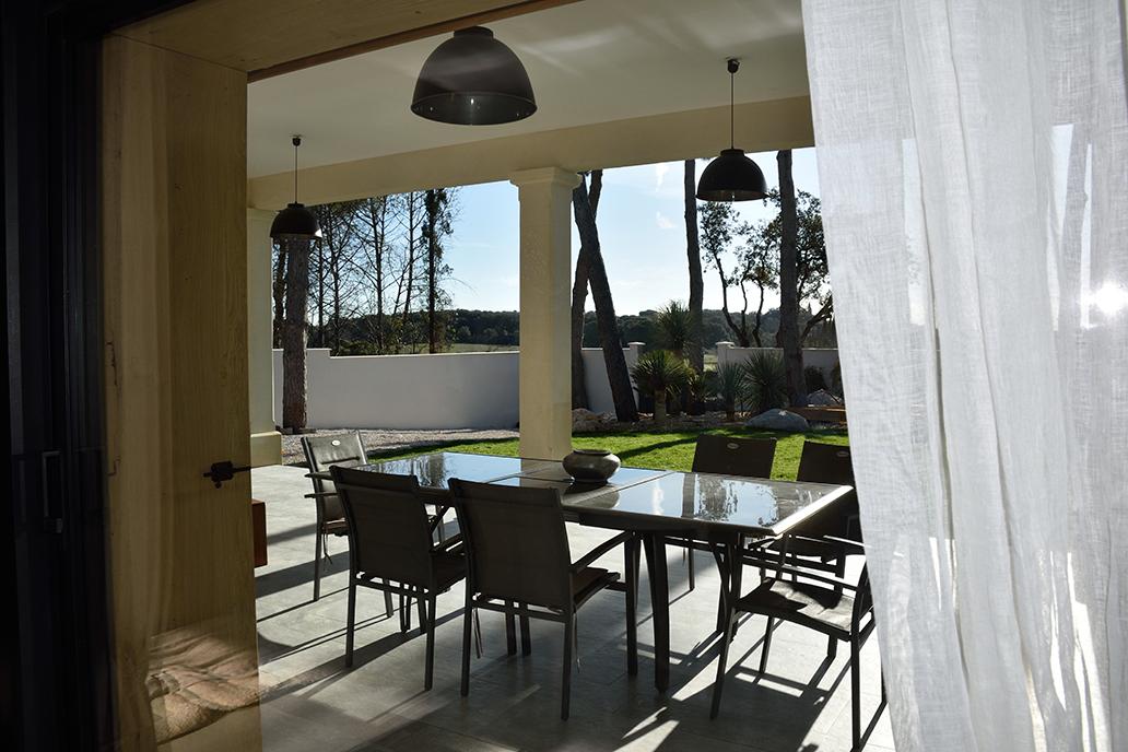 extérieur maison bois energie positive design popup