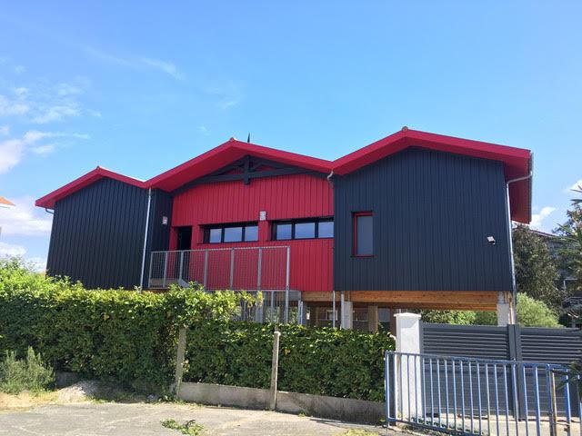 exterior design wooden house arcachon