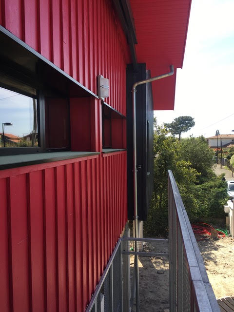 exterior modern wooden house arcachon