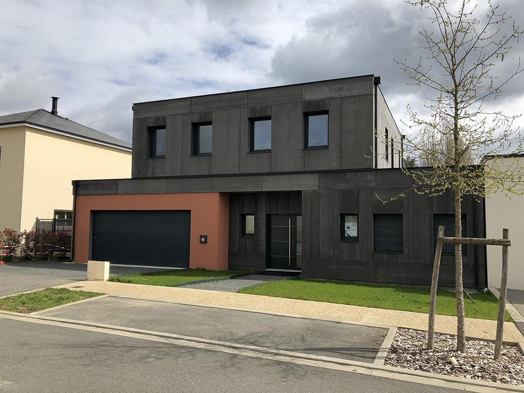 maison bois design