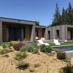 maison ossature bois contemporain st remy de provence exterieur