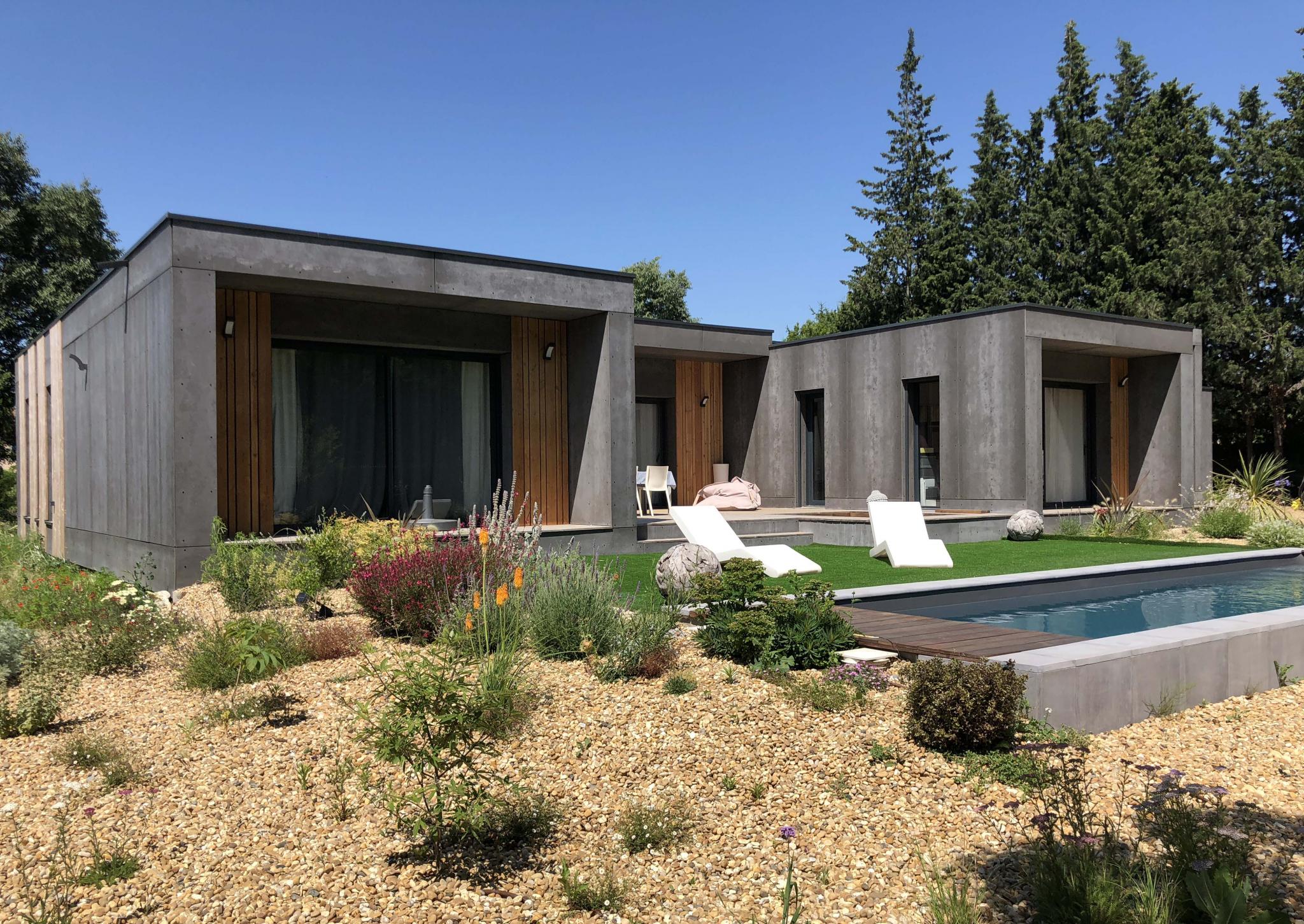 constructeur maison ossature bois bouches du rhone. Black Bedroom Furniture Sets. Home Design Ideas