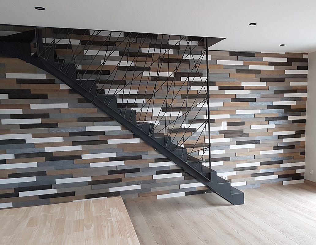 intérieur maison bois design