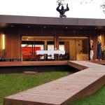 maison ossature bois design popup house st cyr exterieur