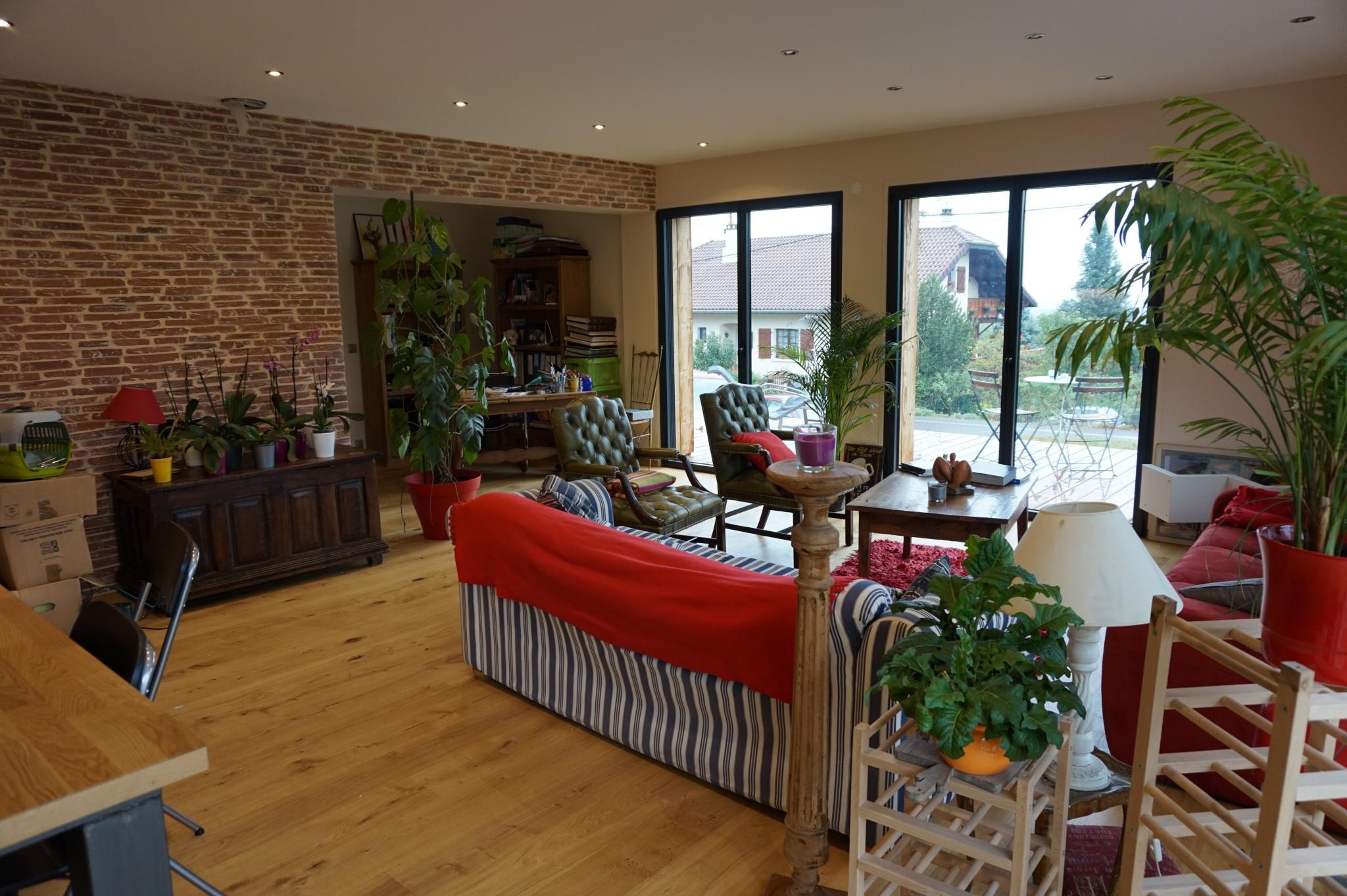 maison 120 m dans l 39 ain popup house. Black Bedroom Furniture Sets. Home Design Ideas