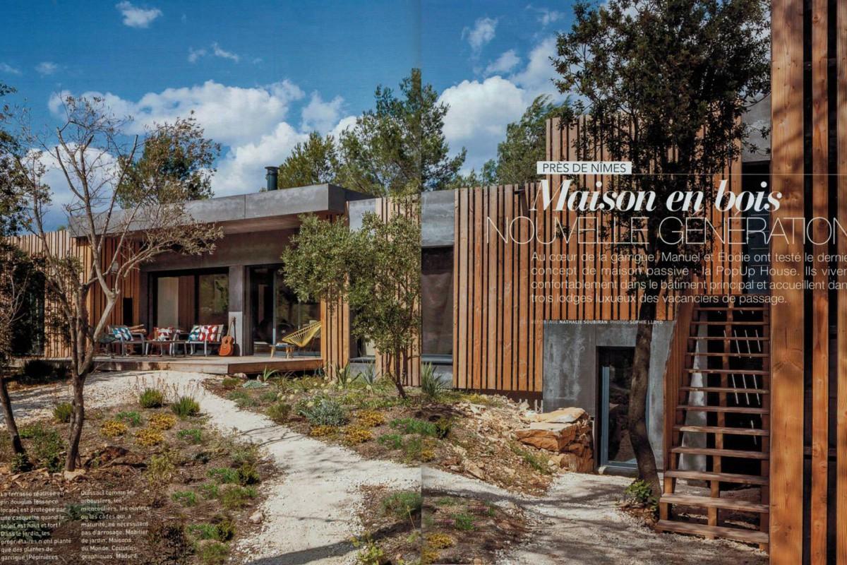 L Actualite Des Maisons Ossature Bois Popup House Popup House