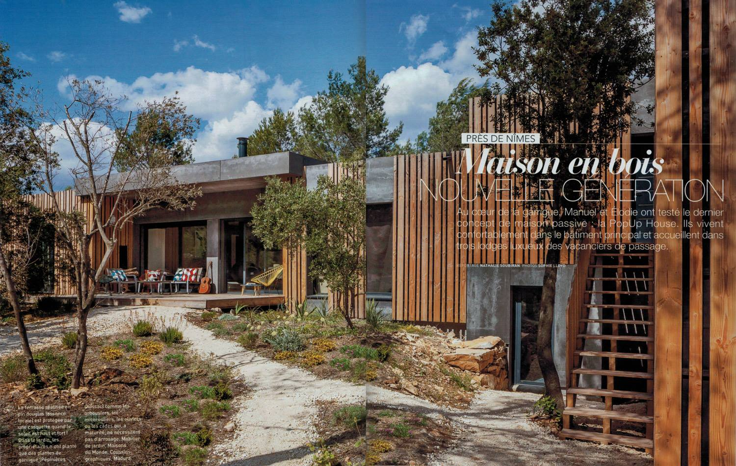 The first PopUp House guesthouse in French magazine Art ...