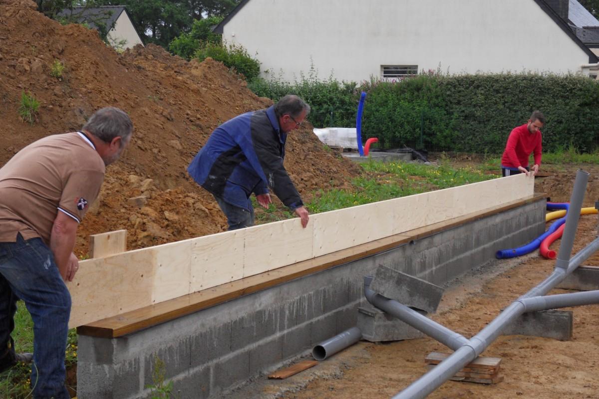 Maison 126 m en bretagne popup house for Constructeur de maison en bois en bretagne