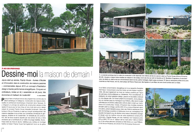 Cote Sud Presents Popup House As The House Of Tomorrow Popup House