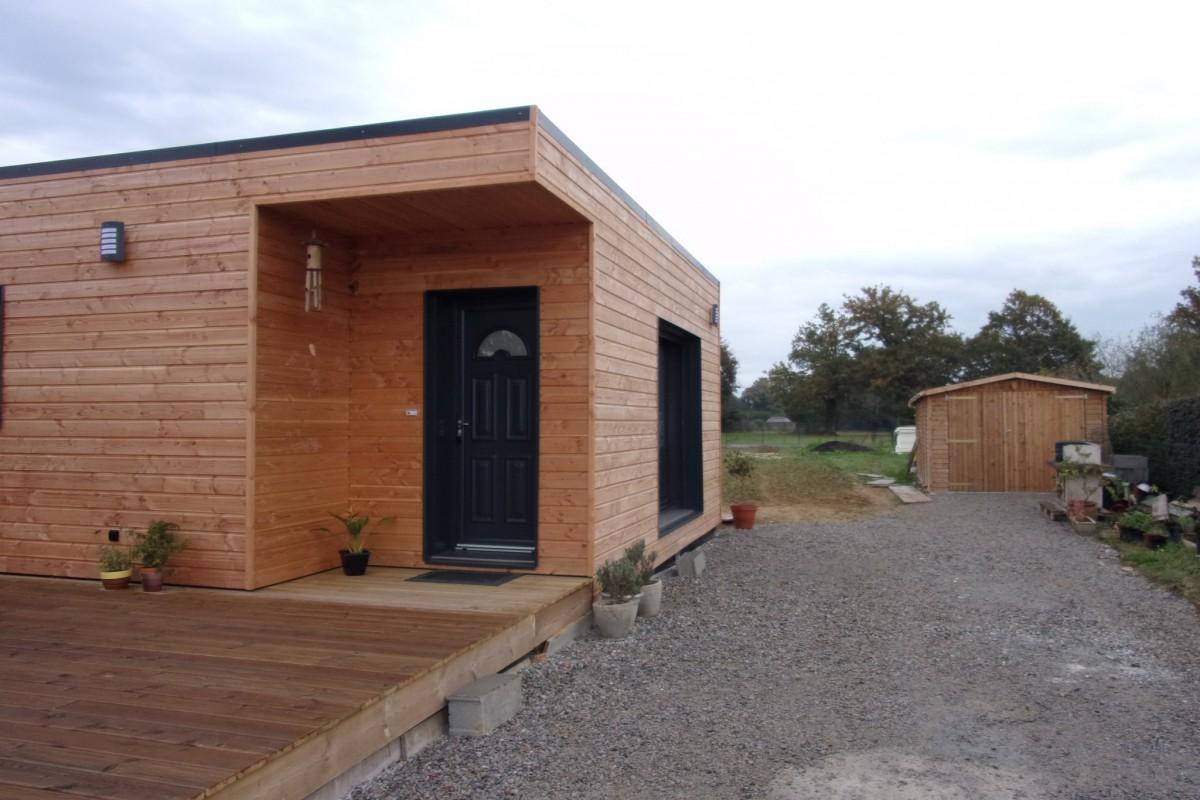 maison 126 m en bretagne popup house. Black Bedroom Furniture Sets. Home Design Ideas