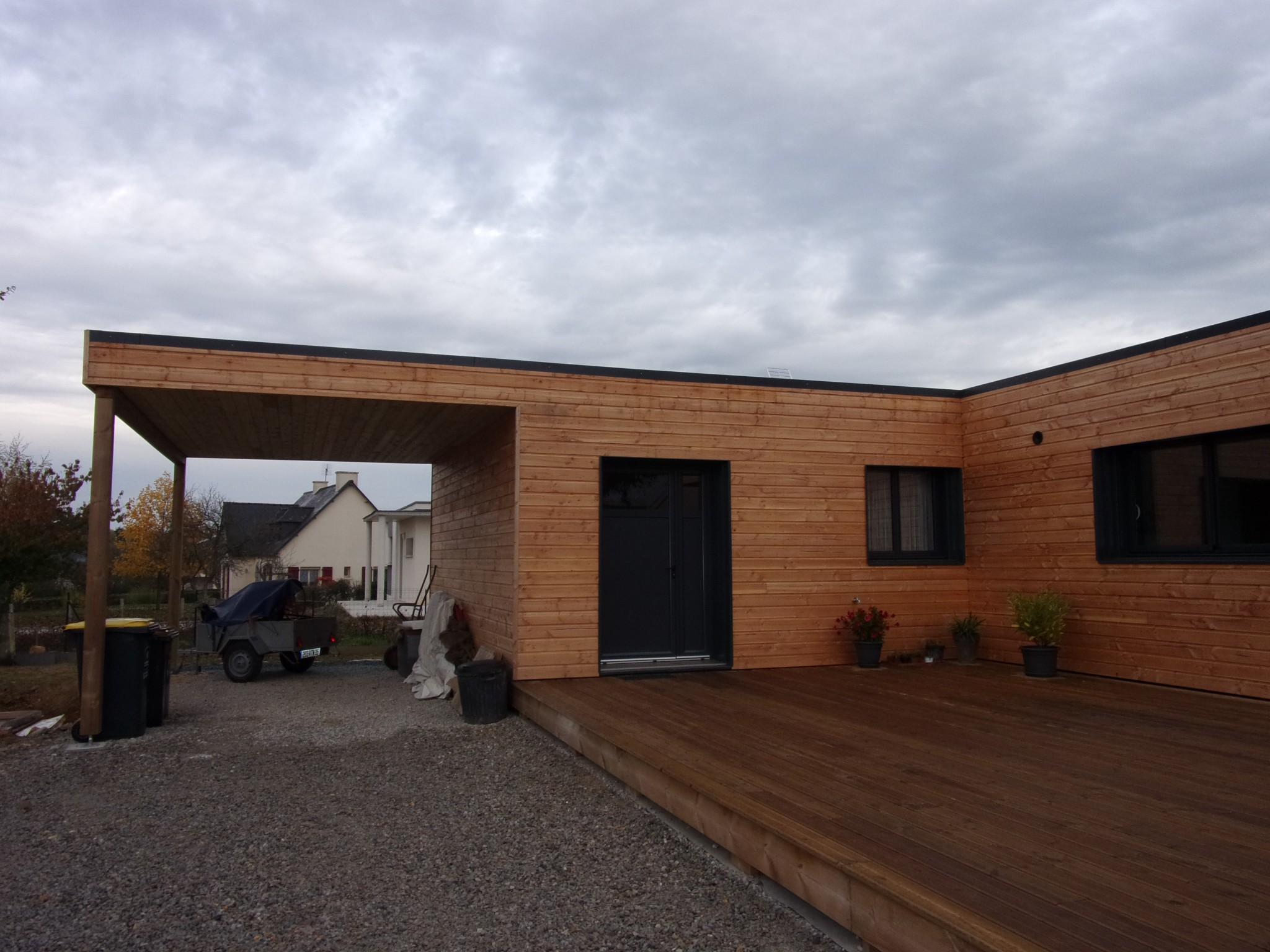 Maison 126 m en bretagne popup house for Pliage maison pop up