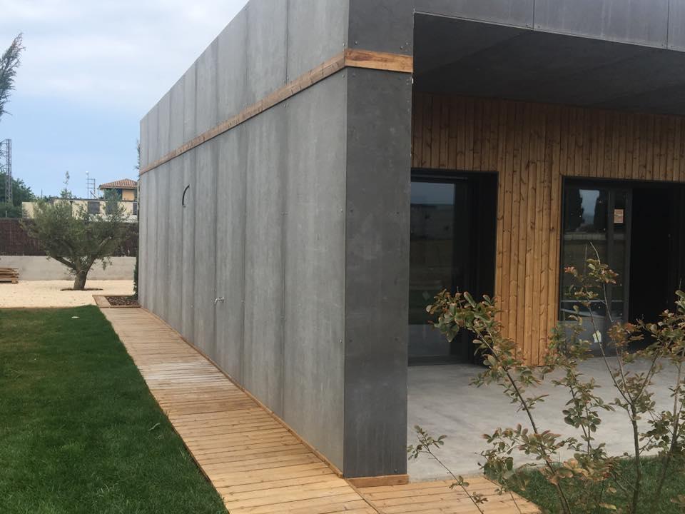 maison bois Espagne