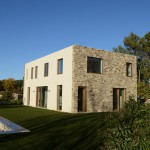 typical provencal house designed by popup house
