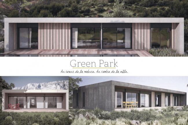 Green Park écoquartier maisons bois en centre ville