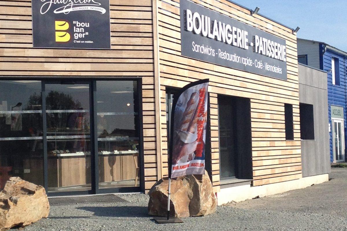 commerce boulangerie popup house bois