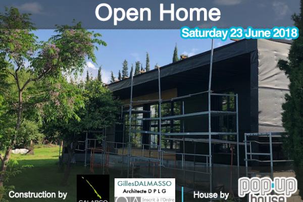 open house in berre les alpes