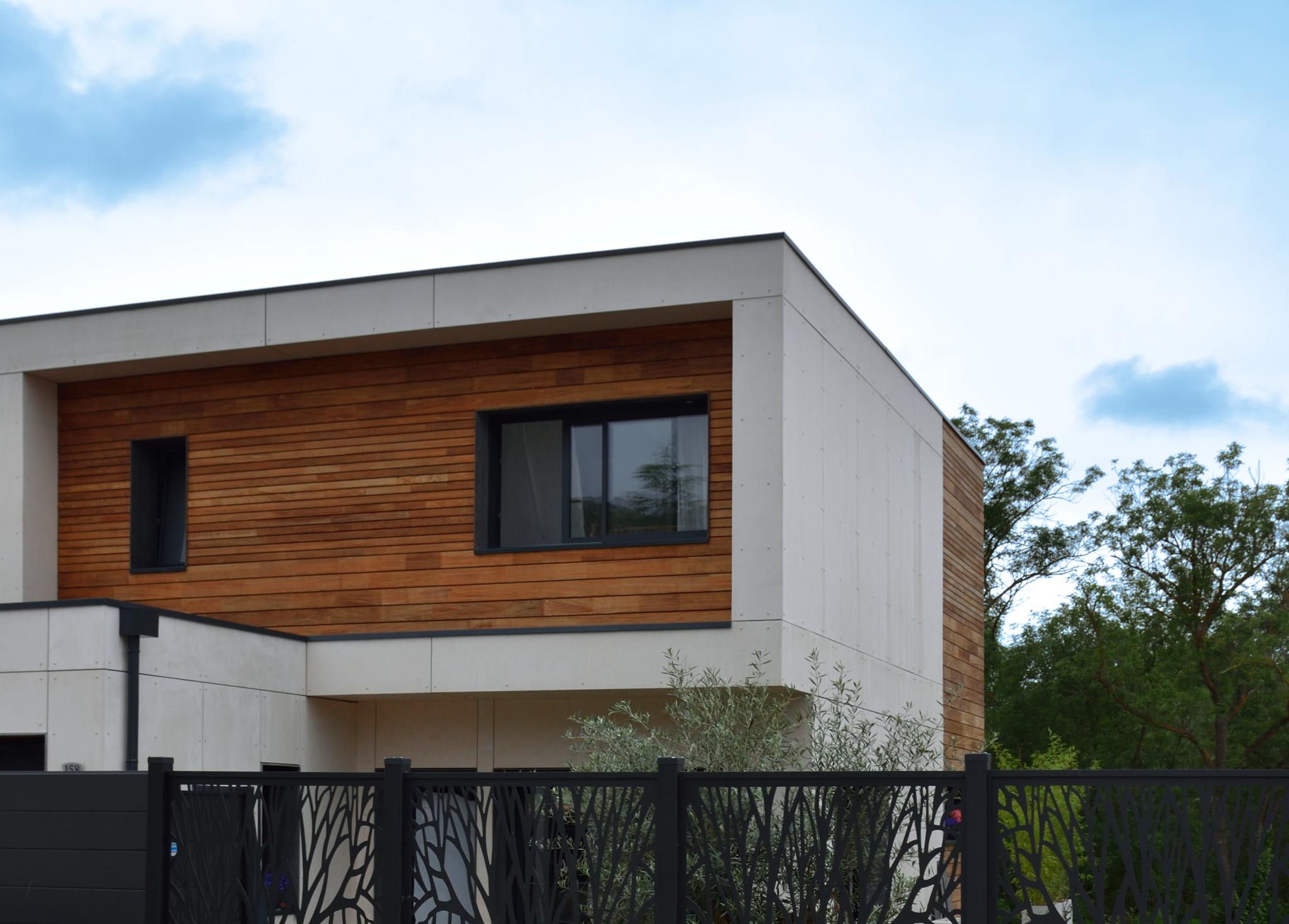 maison cubique herault