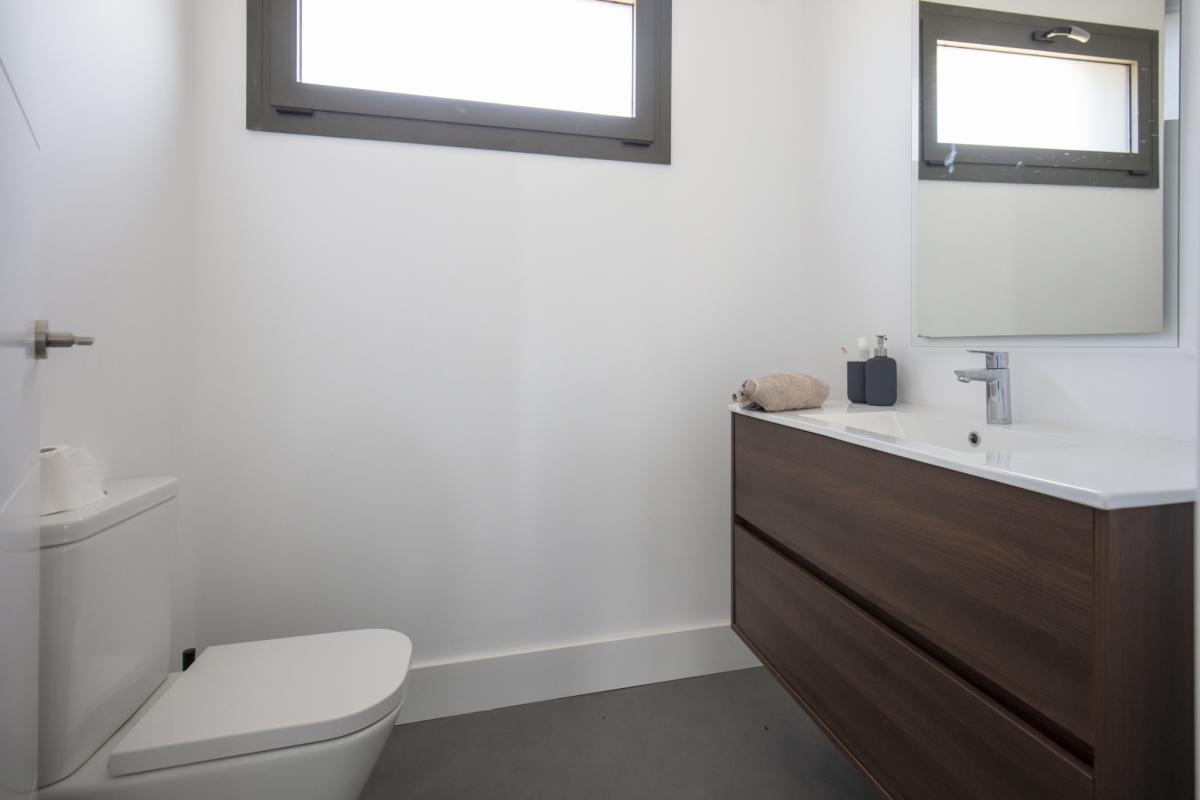 salle de bain #3 maison passive moderne en bois espagne
