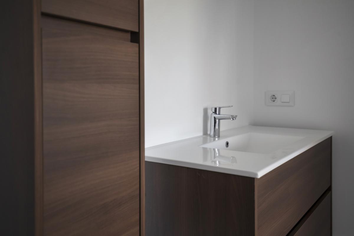 salle de bain #2 maison passive moderne en bois espagne