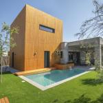 maison passive moderne en bois espagne