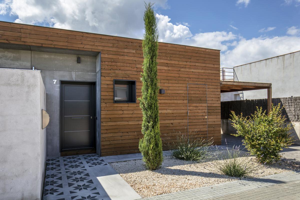 exterieur #2 maison passive moderne en bois costa brava