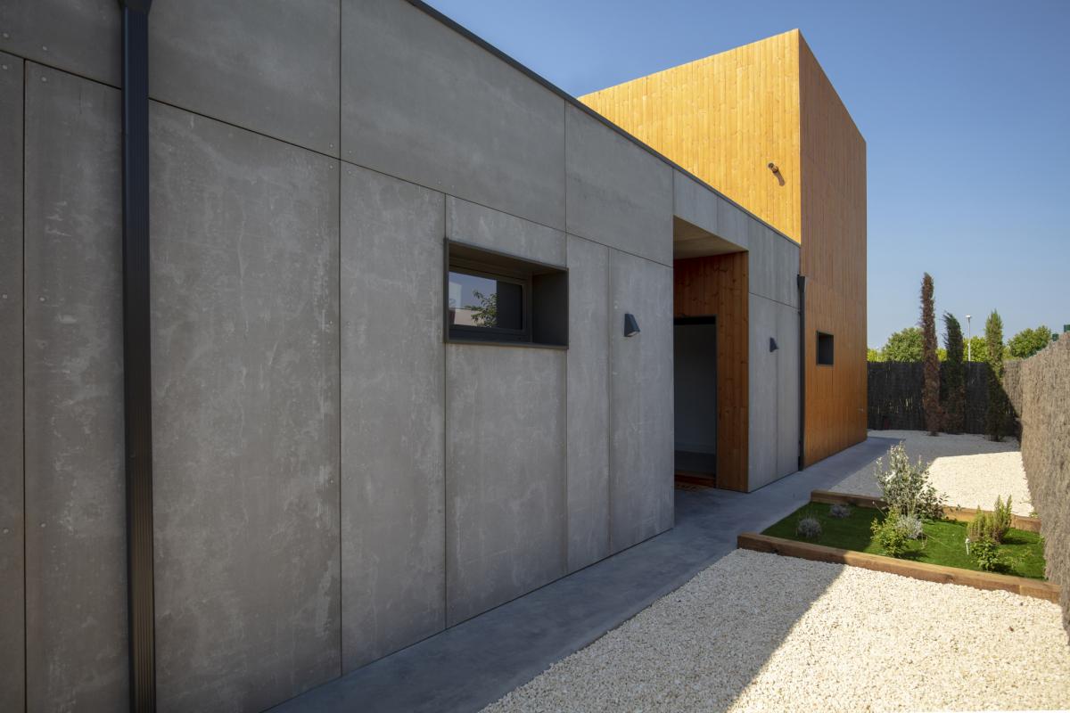 exterieur #2 maison passive moderne en bois espagne