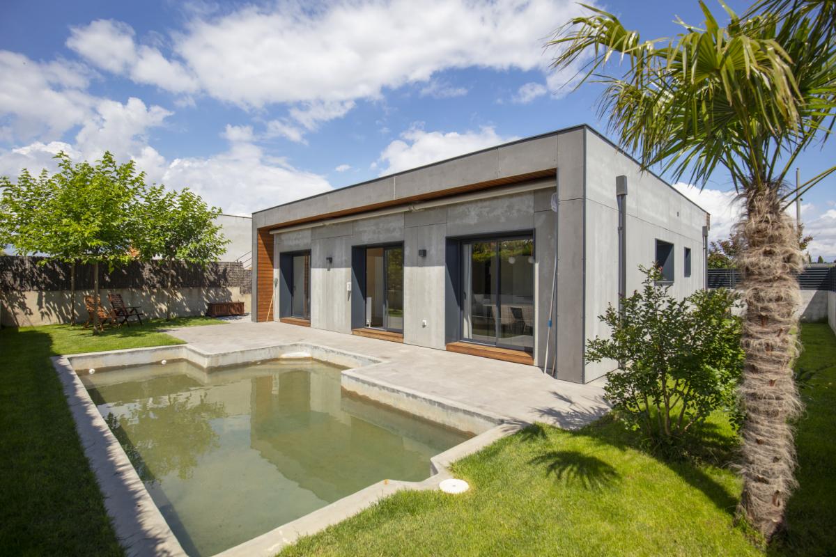 piscine #2 maison passive moderne en bois costa brava