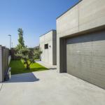 garage maison passive moderne en bois espagne