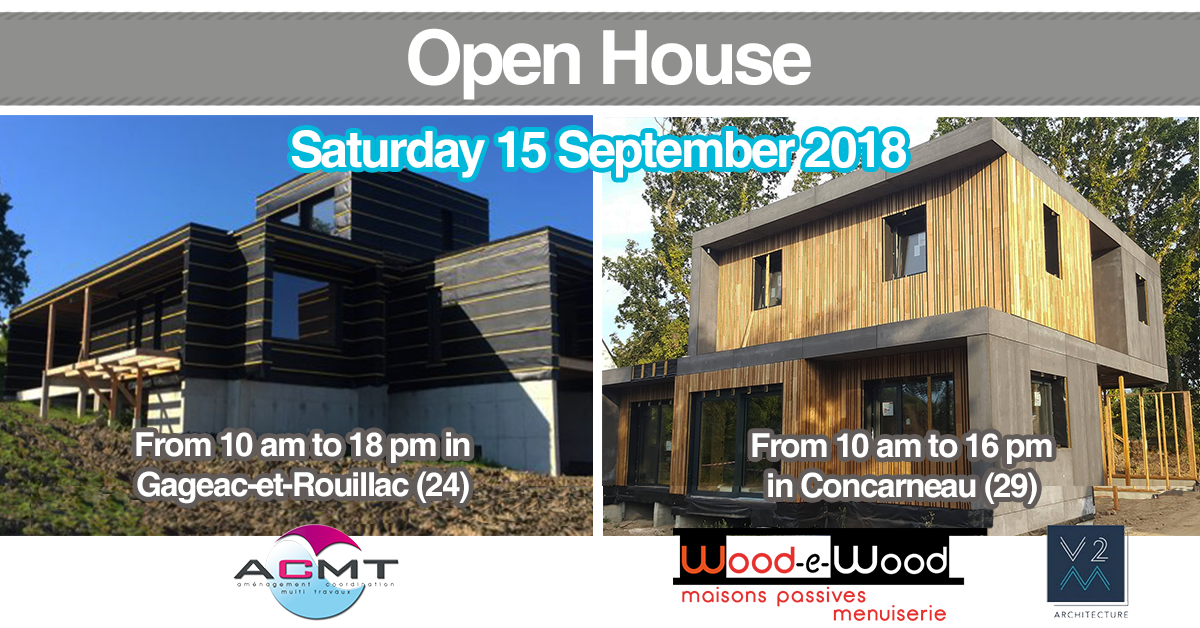 open house in concarneau and gageac-et-rouillac
