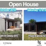 open house popup house