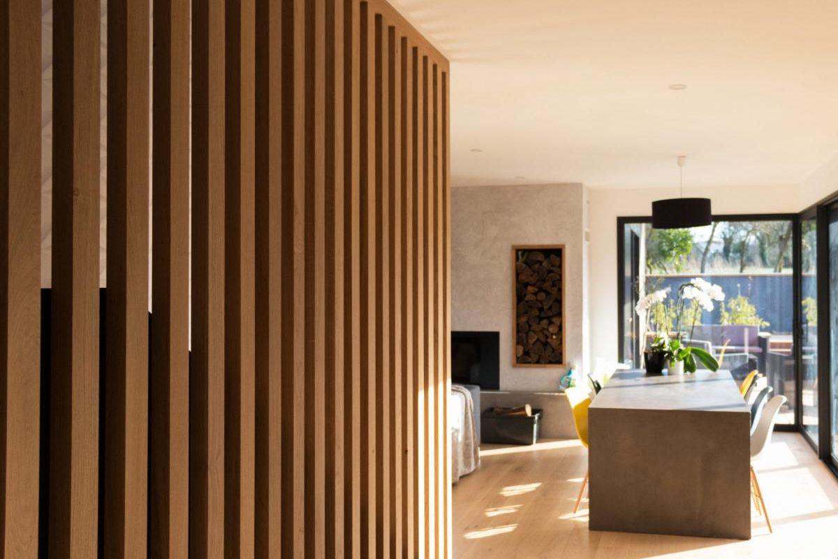 Intérieur ultra design dans une villa PopUp House dans la Loire-Atlantique