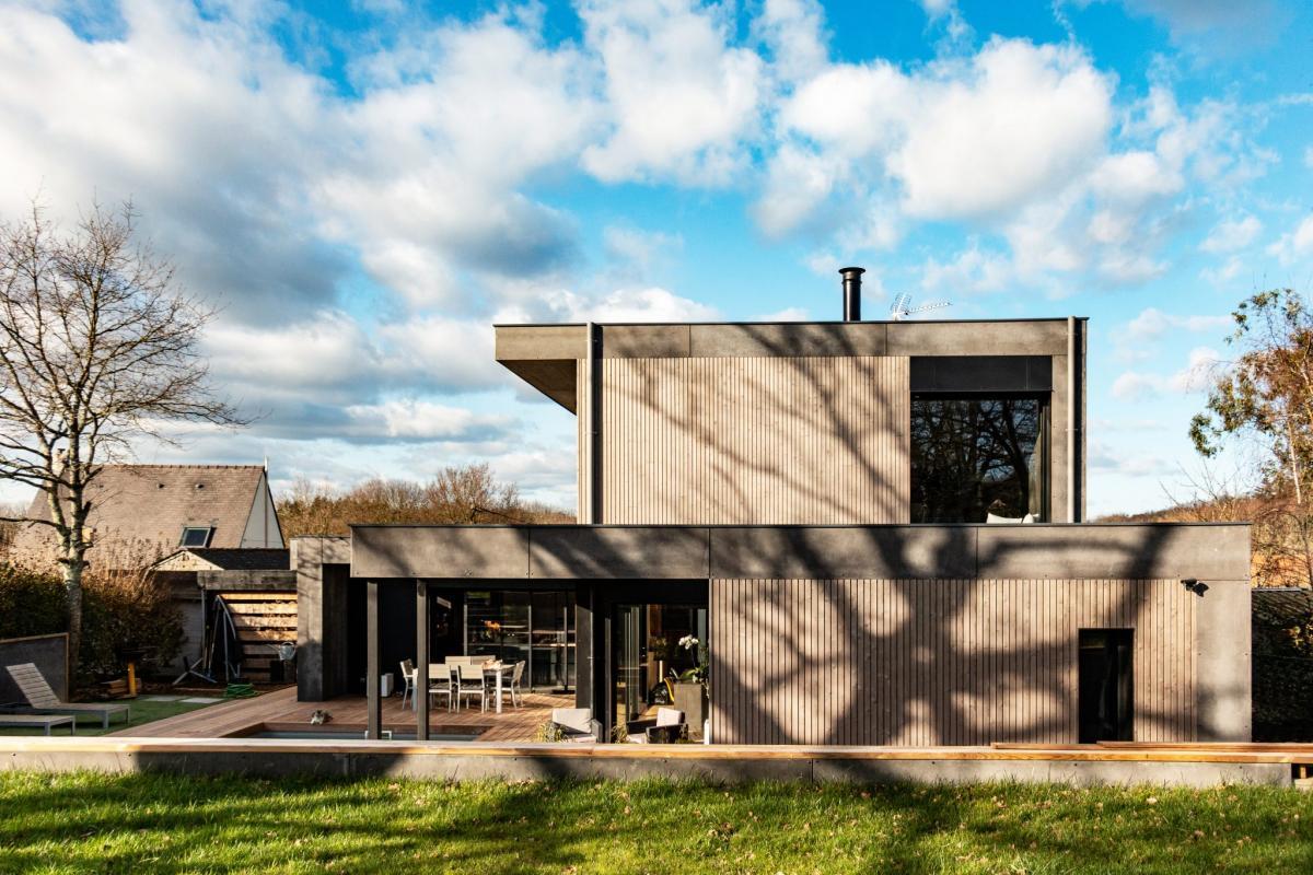 Villa au design épuré